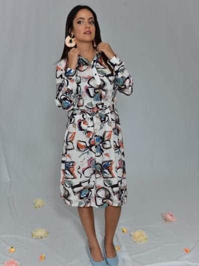 שמלת רוז שמלות צנועות