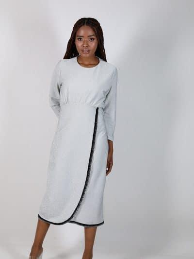 שמלת אצולה מעטפת מיטל דוד