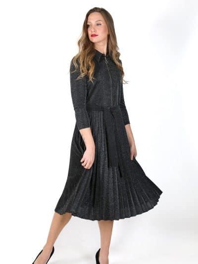 שמלת QUEEN - שחורה