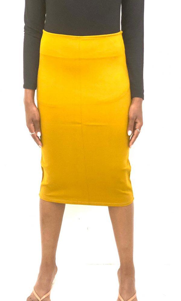 חצאית מחטבת מיטל דוד